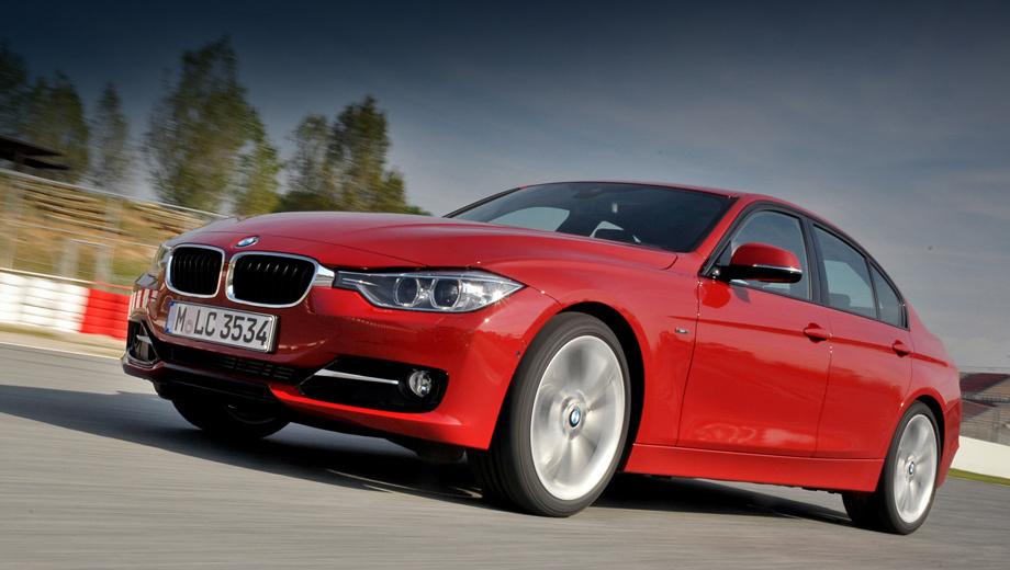 Bmw 3. Динамические характеристики новинки пусть и не впечатляющие, но вполне достойные. С ноля до 100 км/ч седан BMW 316i разгоняется за 8,9 с.