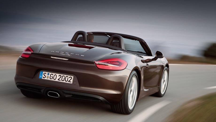Porsche boxster. Обычный Boxster ещё долго будет нести бремя самого доступного Porsche.