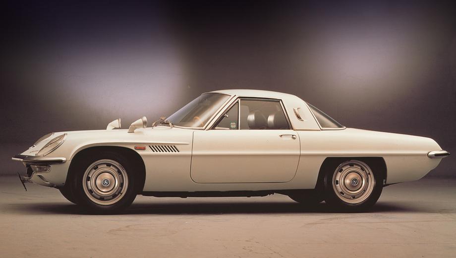 Mazda rx-8. Первое роторное купе — Mazda Cosmo Sport — было запущено в серию 30 мая 1967 года (80 предсерийных экземпляров были изготовлены в 1965 и 1966 годах).