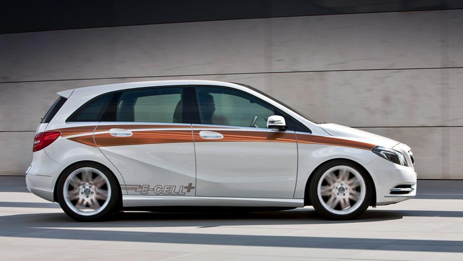 Mercedes b. Цены на литиевые аккумуляторы постепенно падают, так что запуск в серию премиального компактвэна на батареях выглядит всё более логичным решением.