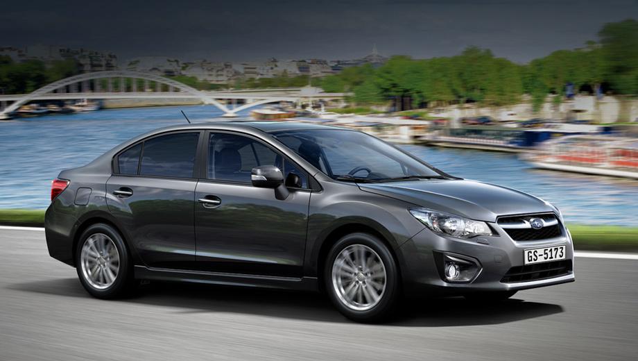 Subaru impreza. В зависимости от мотора и трансмиссии разгон с места до сотни занимает у Импрезы от 10,5 до 12,6 секунды. Расход топлива в смешанном цикле у разных модификаций составляет от 7 до 7,9 л/100 км.