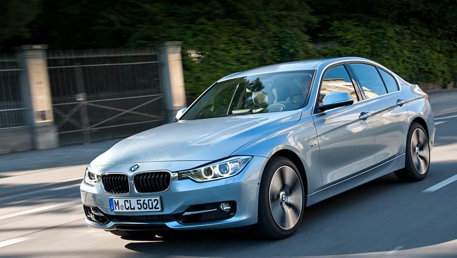 Bmw 3,Bmw 3 activehybrid. Суммарная отдача гибридной силовой установки седана BMW 3 ActiveHybrid составляет 340 сил и 450 Н•м.