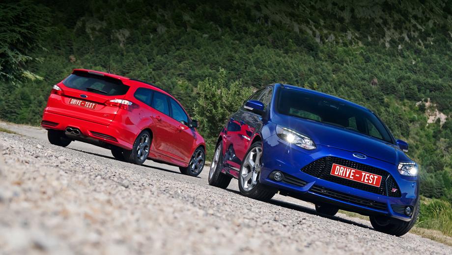 Ford focus st. Focus ST будет продаваться в сорока странах мира. Причём, согласно концепции One Ford, «эс-тишки» для североамериканского рынка и, к примеру, немецкого различаться не будут, включая настройки подвесок. Однако «заряженный» универсал, пришедший на смену трёхдверке, будет доступен только европейцам.