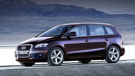 Audi mpv. Учитывая традицию компании строго выдерживать фирменный стиль в своих моделях, будущий минивэн от Audi вполне может получить внешность, как на этом рендере.