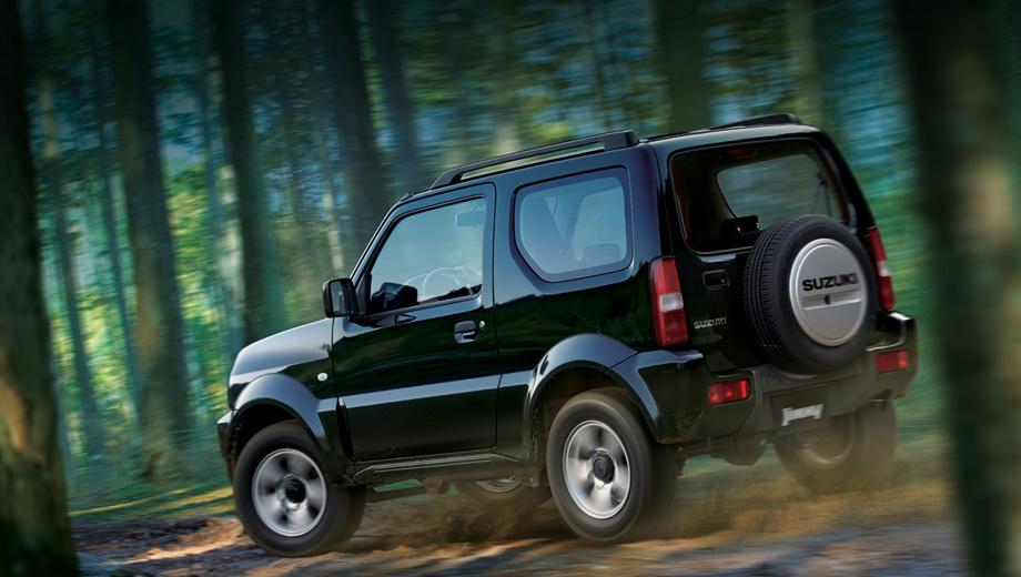 Suzuki jimny. Технически машина осталась прежней, что означает честный полный привод и недюжинную проходимость компактного автомобиля.