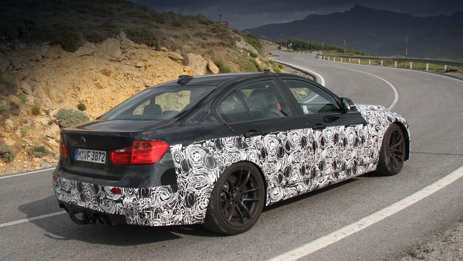 Bmw m3. «Эм-третья» нового поколения должна дебютировать в конце 2013 года или в начале 2014-го. И в том же 2014-м появится купе M4, а за ним и кабриолет.