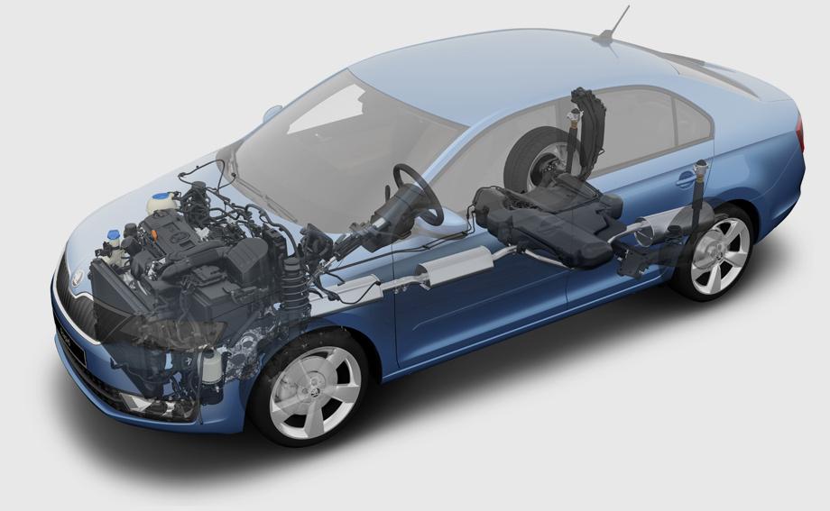 седана Volkswagen Polo.