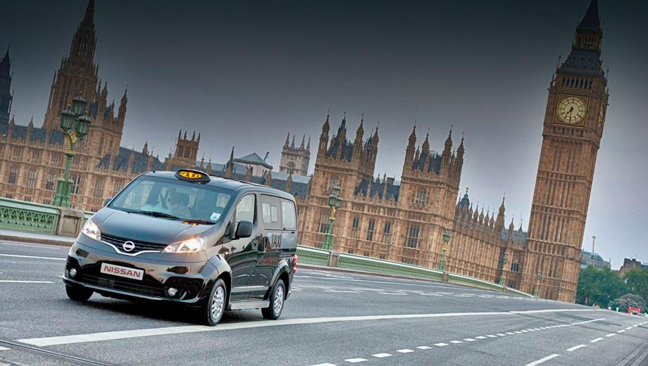 Nissan nv200. Автомобиль полностью соответствует нормам, предъявляемым к общественному транспорту в Лондоне. В том числе новым экологическим стандартам.