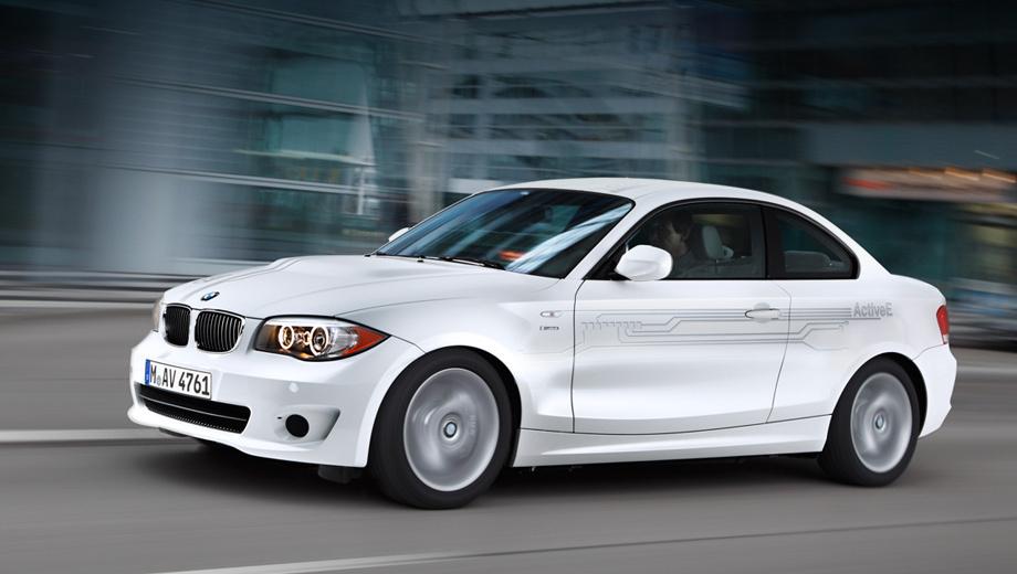 Bmw activee. В настоящее время по дорогам США уже колесят 700 BMW ActiveE, большая доля — в руках частников.
