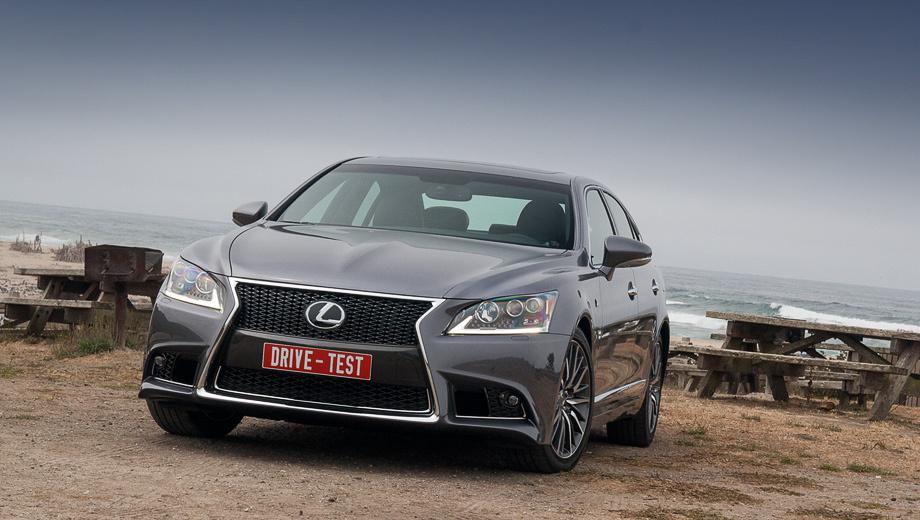 Lexus ls. Японцы категорически против таких определений, как рестайлинг или фейслифтинг, предпочитая называть Lexus LS новым. Хотя и кузов и силовые агрегаты у флагмана японской премиум-марки по сути остались прежними.