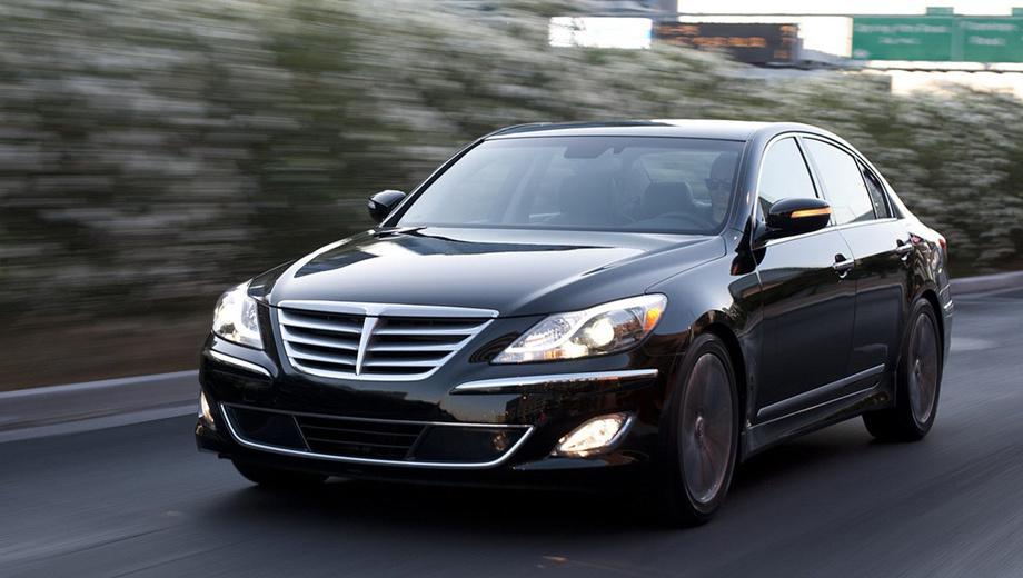 Hyundai genesis. Версия R-spec подразумевает иные настройки коробки передач.