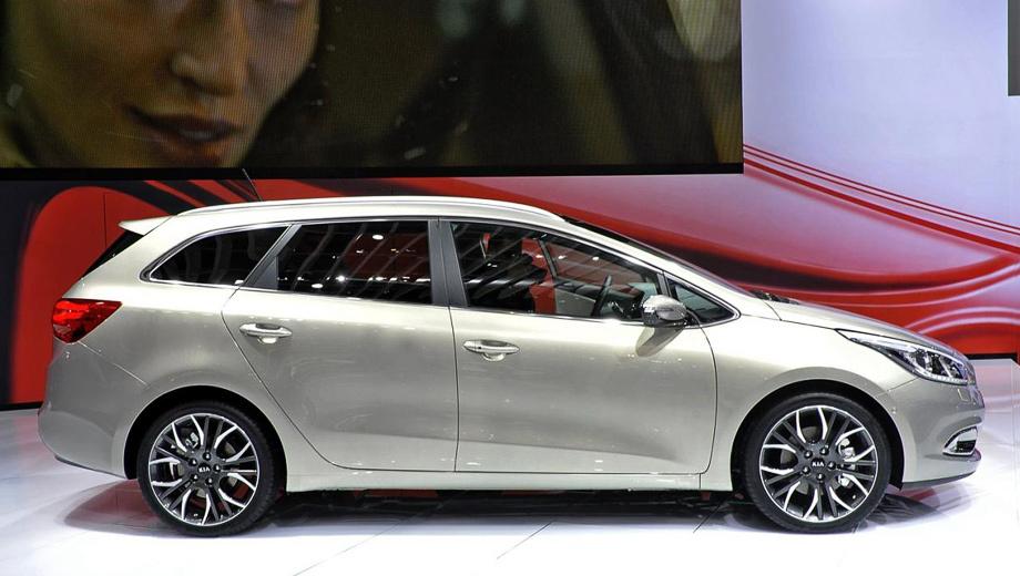 Kia ceed. Впервые такая версия Сида была представлена публике в Женеве в марте 2012 года.