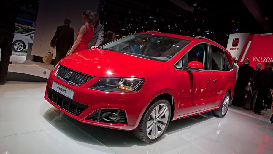 Seat alhambra. С 1996 года по всему миру продано свыше 250 тысяч минивэнов SEAT Alhambra. Худшим годом стал 2009-й — тогда было реализовано всего 5923 машины.