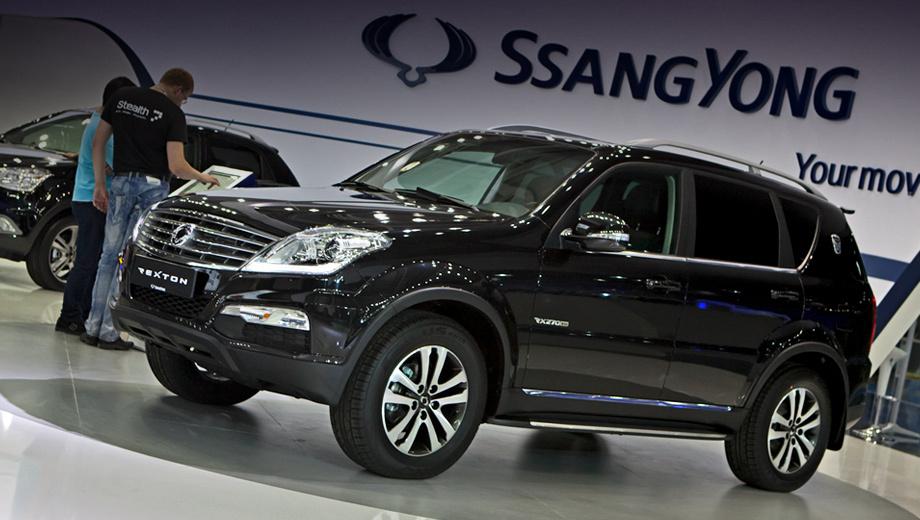 Ssangyong rexton,Ssangyong chairman. Наиболее доступный SsangYong Rexton с «автоматом» стоит от 1 319 000 рублей. Прежде такие машины оценивались минимум в 1 259 000.
