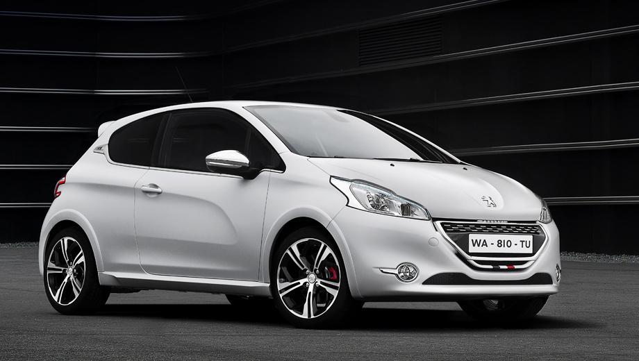 Peugeot 208 gti,Peugeot 208. Хот-хэтч шире стандартной трёхдверки Peugeot 208 на 10 мм спереди и на 20 мм сзади.