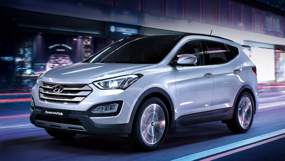 Hyundai santa fe. Квота на этот год — четыре тысячи автомобилей. Первые машины появятся в салонах дилеров уже в конце сентября.