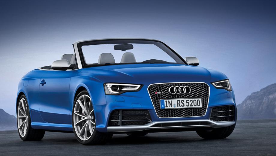 Audi rs5. В Германии цены на новинку начинаются с отметки в 88 500 евро.