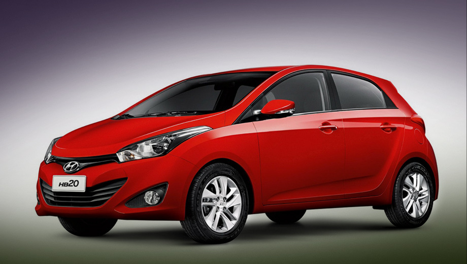 Hyundai hb20. Аббревиатура HB в названии расшифровывается просто: Hyundai Brazil.
