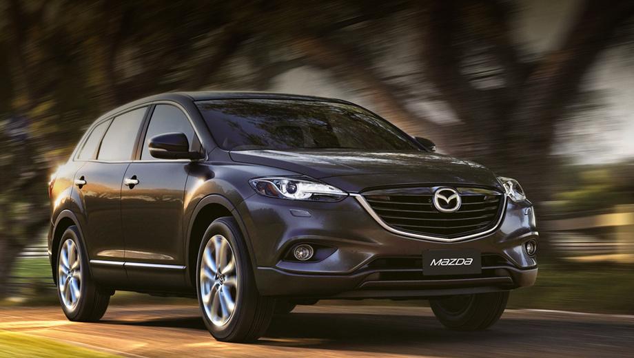 Mazda cx-9. Изменения в экстерьере носят чисто косметический характер. С технической точки зрения всё осталось по-прежнему.