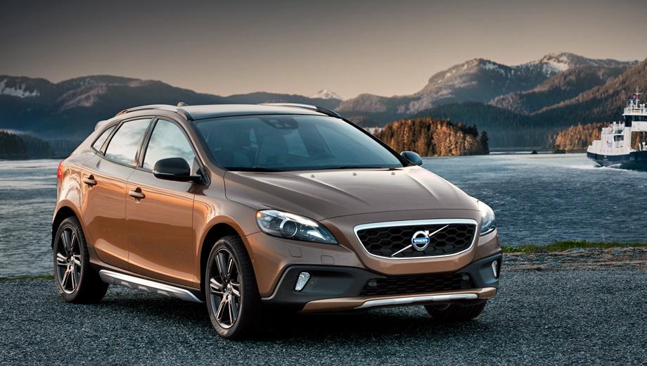Volvo v40. В нашей стране V40 Cross Country появится в продаже в начале следующего года. Цены объявят позже.