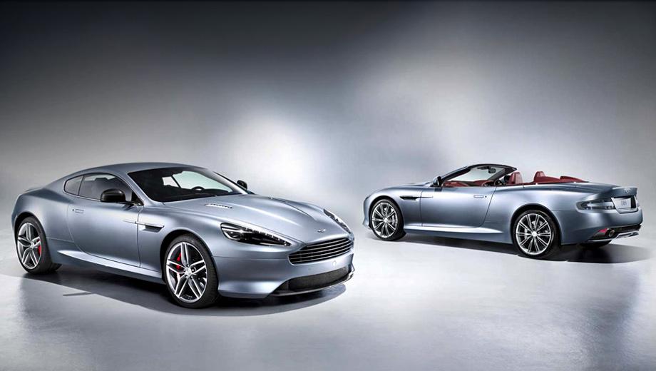 Aston martin db9. Новое лицо сделало машину визуально шире. А в качестве стильной опции компания предлагает углеволоконный сплиттер.