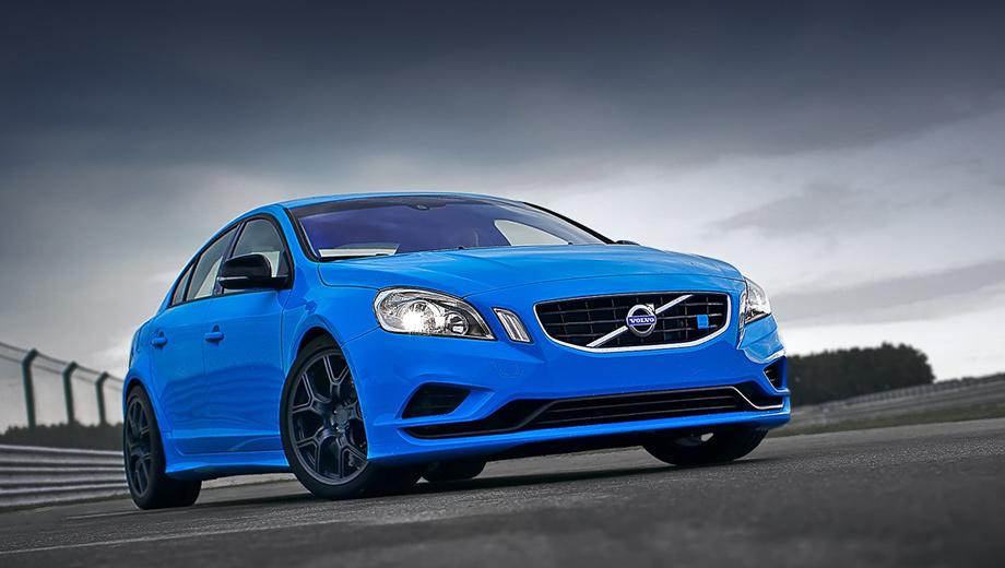 Volvo s60,Volvo s60 polestar. Седан Volvo S60 Polestar хоть и пребывает в статусе концепта, но выглядит не вызывающе. Скромный обвес, 19-дюймовые колёсные диски, спойлер на крышке багажника да пара патрубков выпускной системы Ferrita — отличия от стандартной модели S60.