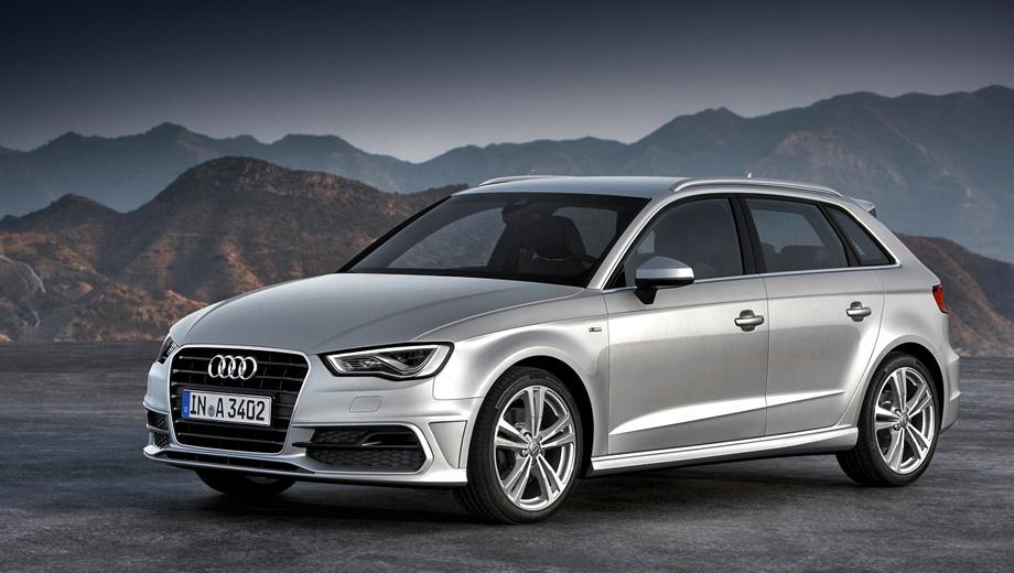 Audi a3. Продажи хэтчбека Audi A3 Sportback стартуют в Европе в феврале следующего года.