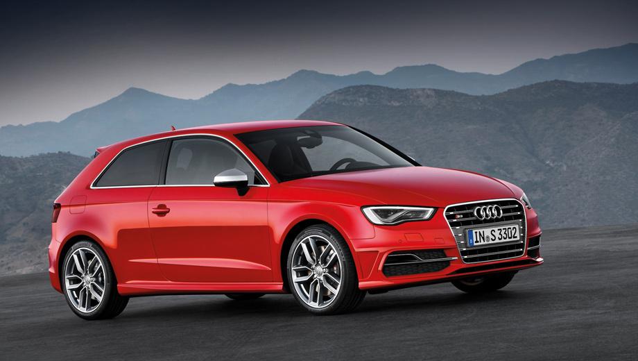 Audi s3. Максимальная скорость ограничена электроникой на 250 км/ч. Расход топлива в смешанном цикле равен 7 л на 100 км (улучшение на 1,5 л) с шестиступенчатой «механикой» и 6,9 л с шестидиапазонным «роботом».