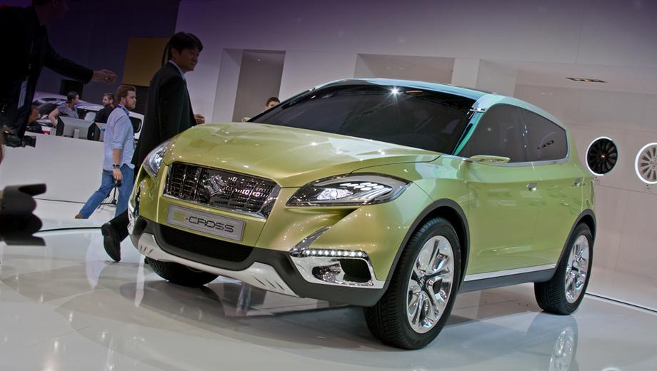 Suzuki s-cross. Серийный компактный кроссовер на базе концепта Suzuki S-Cross выйдет не раньше конца 2013 года. Основными рынками для него станут Европа и Китай. Сборкой машин для Старого Света займётся завод в Венгрии.