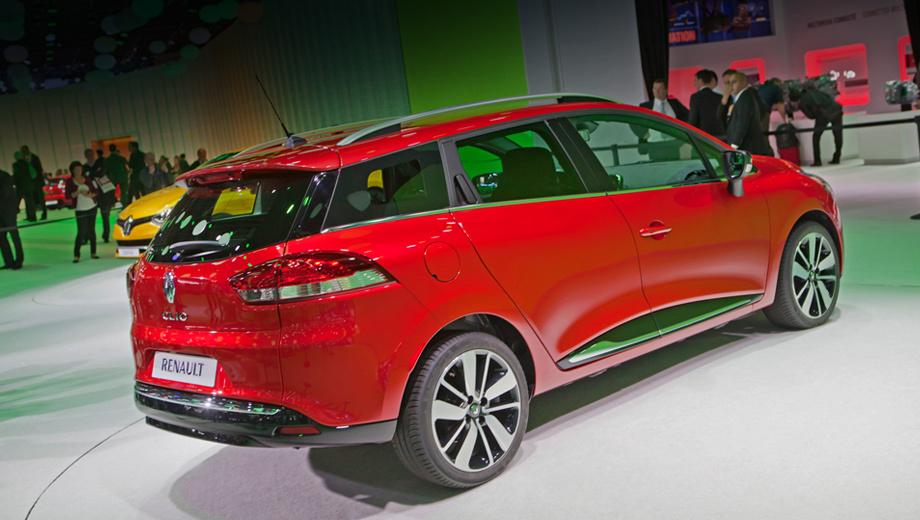 Renault clio. На рынок универсал попадёт в первом квартале 2013 года.
