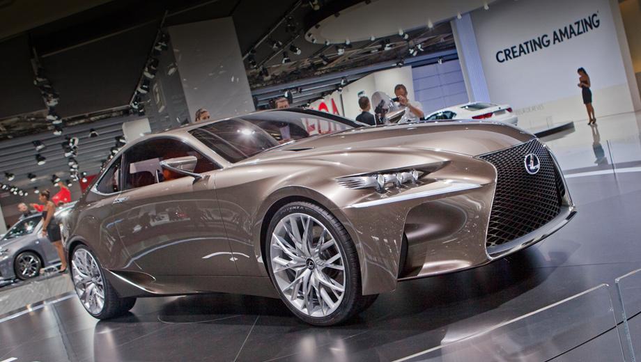 Lexus lf-cc. Отходить от концепции L-finesse лексусовцы не собираются. Новый концепт — очередное тому подтверждение.