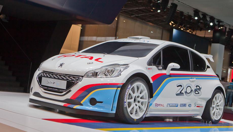 Peugeot 208,Peugeot 208 r5. Испытания боем у Peugeot 208 R5 начнутся уже в конце 2012 года и продлятся первую половину 2013-го.