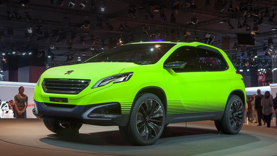 Peugeot 2008. Длина Peugeot 2008 составляет 4,14 метра, а ширина — 1,74 м.
