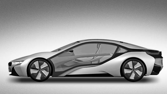 Bmw i8. Какой механизм открывания дверей получит купе BMW i8, пока неясно. Вполне возможно, что немцы не откажутся от дверей-гильотин.