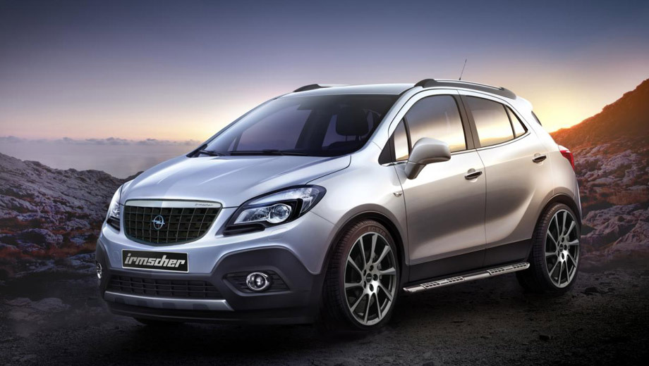 Opel mokka. Паркетник Opel Mokka обули в новые 20-дюймовые колёсные диски.