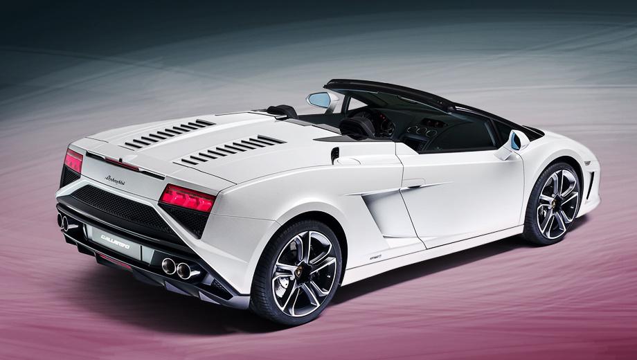 Lamborghini gallardo. Рестайлинг назревал давно. Ведь новое поколение суперкара Гайярдо будет явлено публике только в 2013 году. Так что оставаться со старой внешностью Гайярдо Спайдер никак не мог.