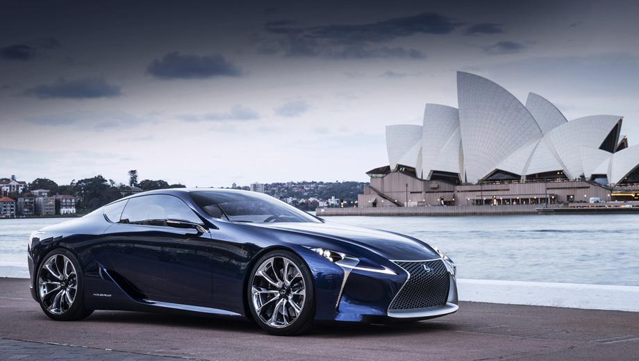 Lexus lf-lc,Lexus concept. Поговаривают, что шоу-кар Lexus LF-LC может пойти в серию. Насколько сильно конвейерный вариант будет отличаться от прототипа, пока неясно.