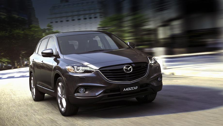 Mazda cx-9. Проведённую модернизацию можно скорее назвать фейслифтингом, никаких технических новшеств привнесено не было.