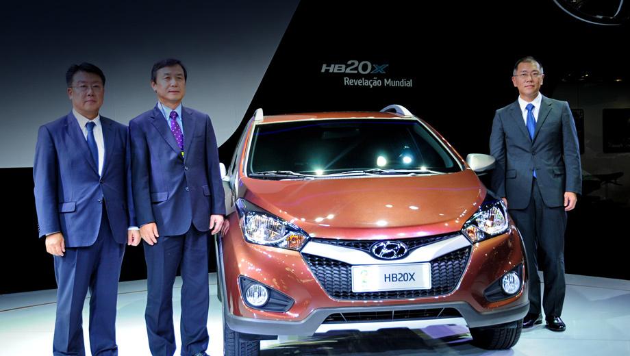 Hyundai hb20. Мода на мини-паркетники, перекроенные из обычных моделей, набирает ход по всему свету. Вот и корейцы подсуетились. Специально для бразильского рынка.