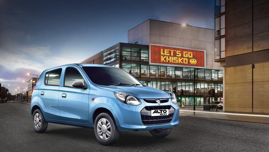 Suzuki alto. Представители компании утверждают, что планируют экспансию модели Alto на другие рынки.