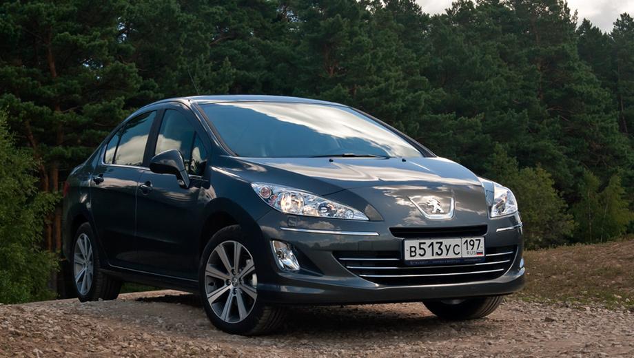 Peugeot 408. Напомним, для сравнения, что базовая версия 408-го с бензиновым мотором 1.6 (110 л.с.) стоит 549 000 рублей, но в ней нет кондиционера.