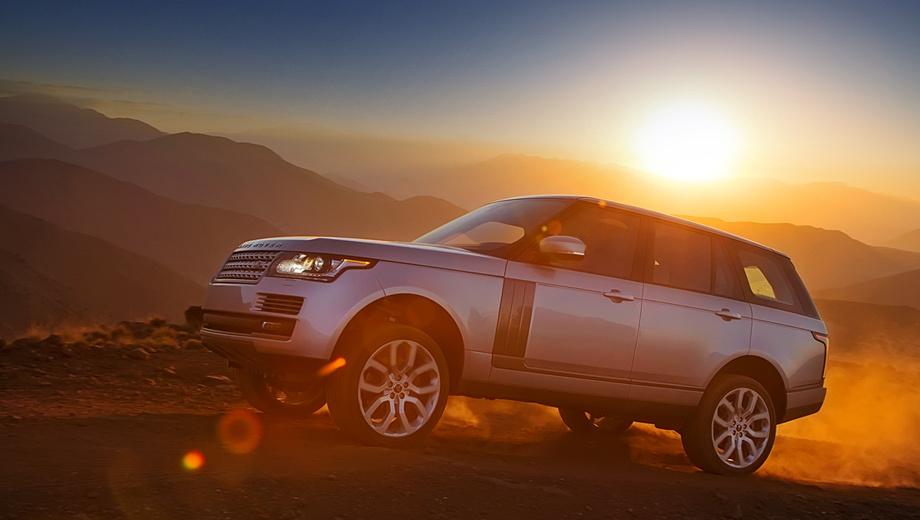 Land rover range rover. Новый Range Rover сродни весам, где на одной чаше покоятся достоинства представительского седана, а на другой — полноценного внедорожника. Но благодаря инновациям вроде полностью алюминиевого кузова, а также пневматической подвеске и системе подавления кренов этот весовой механизм пребывает в полном равновесии.