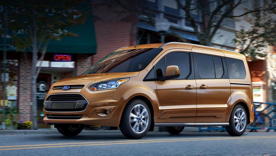 Ford transit connect. В американских дилерских центрах автомобиль появится к концу следующего года. О старте продаж в Европе пока ничего не сообщается.