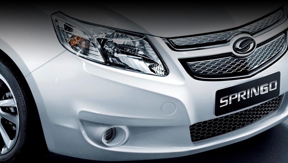 Chevrolet springo. Новинка названа первым серийным электромобилем от СП Shanghai General Motors.