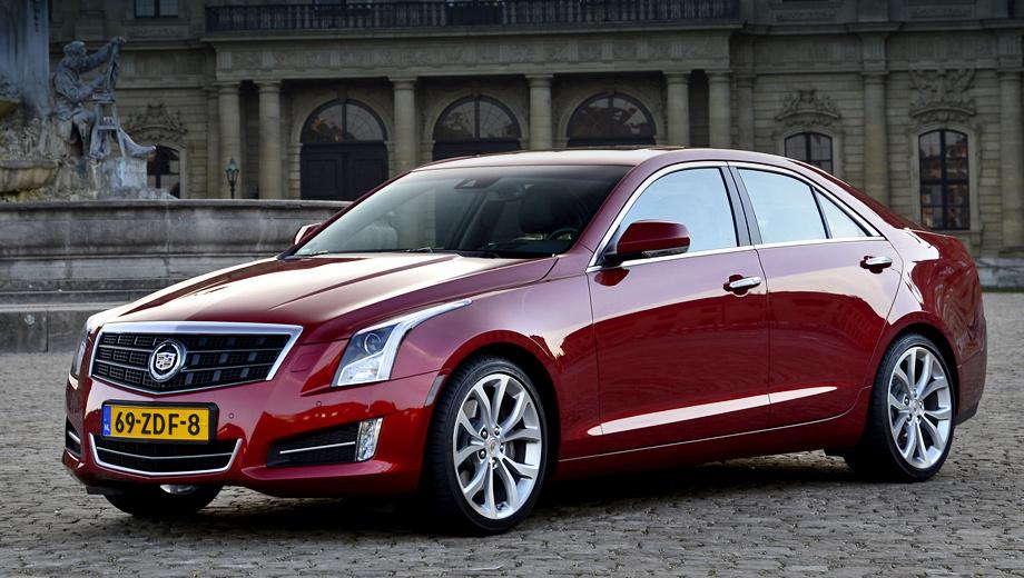 Cadillac ats. Габаритные размеры седана Cadillac ATS: 4643 мм в длину, 1805 в ширину и 1421 мм в высоту.