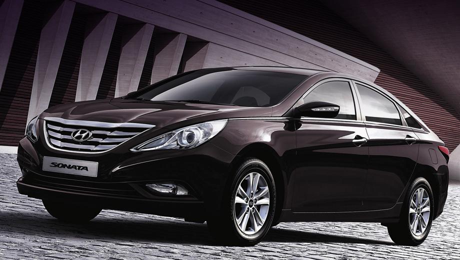 Hyundai sonata,Hyundai i40. Модель Hyundai Sonata на нашем рынке продавалась только с двухлитровым 150-сильным мотором и двигателем 2.4 мощностью 178 л.с. Минимальная цена автомобиля — 929 900 рублей. Сейчас дилеры дают ещё и скидки на машины.