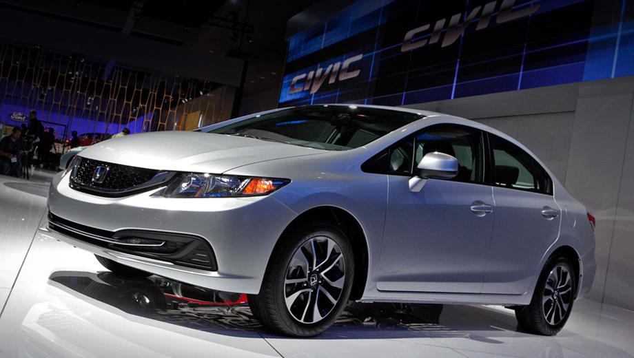 Honda civic,Honda civic hybrid. Весь модельный ряд Civic в США после рестайлинга подорожал на $160, что компания считает небольшой платой за улучшенный интерьер, скорректированную технику и более богатое штатное оснащение. Цена на седан в начальной комплектации LX, к примеру, теперь составляет $18 165.