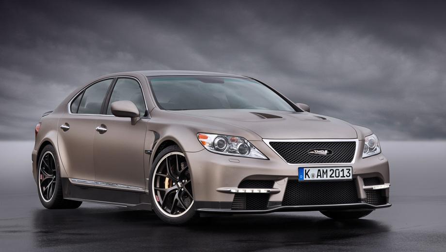 Lexus ls. Во сколько оценило своё творение отделение TMG, пока не сообщается. Надеяться на скидку из-за того, что модель дорестайлинговая, не приходится.