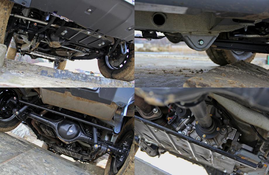 Suzuki Jimny, вид снизу: всем