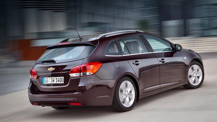 Chevrolet cruze. Универсалы Chevrolet Cruze поступят в продажу в феврале следующего года. Это будут автомобили, произведённые на «Автоторе».
